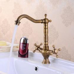 Miscelatore lavello cucina Epoca Bronze