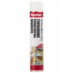 Schiuma isolante poliuretanica Fischer 750 ml.