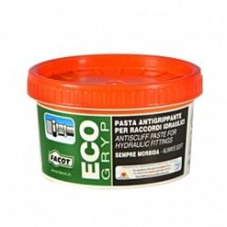Pasta verde antigrippante per raccordi idraulici 400 gr.