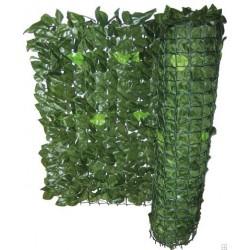 Siepe di foglie artificiali sempreverde