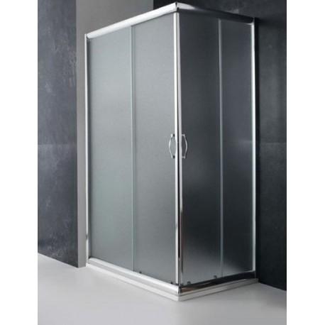Box Doccia Cristallo Satinato.Box Doccia Cristallo 8 Mm Satinato Profilo In Alluminio Crial S R L