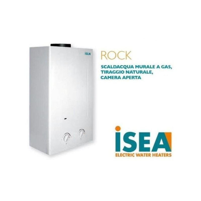Scaldabagno a gas isea rock metano 11 lt crial s r l for Scaldabagno a metano