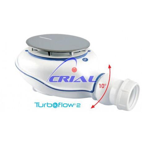 Piletta sifonata per piatti doccia TURBOFLOW 2