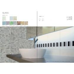 "Rivestimento bagno serie ""Glass"""