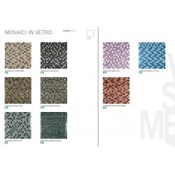 "Rivestimento bagno serie ""Mosaici in vetro"""