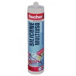 Silicone trasparente Fischer 280 ml.
