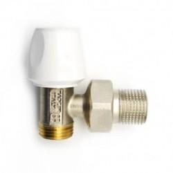 Valvola manuale ad angolo per termosifone