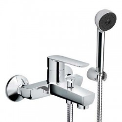 Miscelatore vasca con kit doccia mod. Klint
